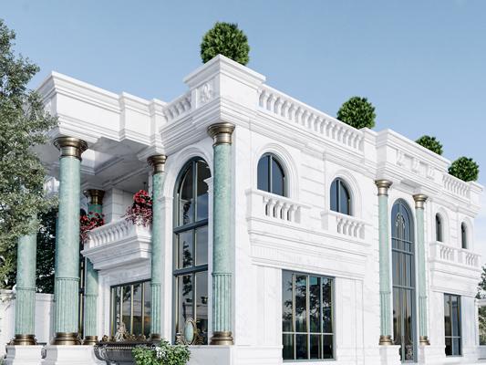Shahrak-e Gharb Villa