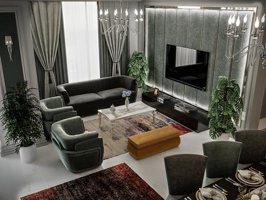 Saghdoosh Residence